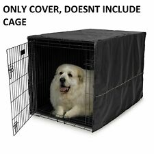 """Folding Cover 48"""" Extra Large Giant Breed Dog Crate Kennel Xl Pet Wire Cage Huge"""