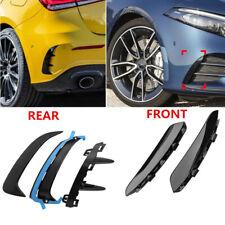 Front+Rear Bumper Lip Flick Canards Spoiler for Benz W177 A200 A250 A35 AMG 2019