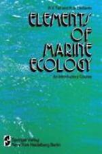 TAIT/DESANTO:ELEMENTS OF, MARINE ECOLOGY