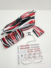 Traxxas Bandit Factory Red  Body Shell & Wing  OZRC