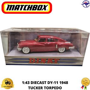 Diecast Model Car 1948 1:43 DY-11 Tucker Torpedo Matchbox The Dinky Collection