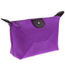 Fashion Multifunction Travel Cosmetic Bag Makeup Pouch  Organizer Purple