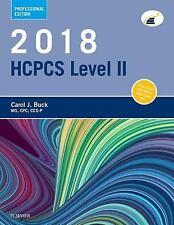 2018 HCPCS Level II Professional Edition by Carol J. Buck (2017, Spiral)