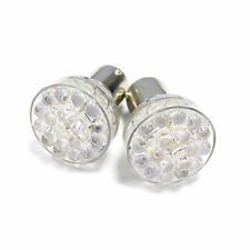 2x Peugeot 607 Ultra Bright White 24-LED Reverse Light Lamp High Power Bulbs