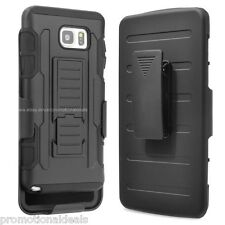 Protective Future Hybrid Hard Back Case Cover For Samsung Galaxy Note 5
