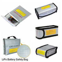 1Pc Fireproof RC LiPo Battery Explosion-Proof Safety Bag Safe Guard Charge Sack