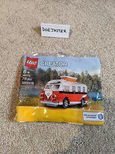 LEGO Mini VW T1 Camper Van - 40079 Creator - 2013 - New - Volkswagen - Polybag