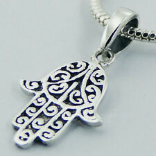 USA Seller Hand of Fatima Pendant Sterling Silver 925 Best Deal Jewelry Gift