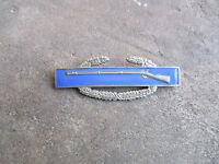WWII CIB Combat Infantryman Badge full size rare pin back variation #2