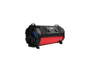Supersonic - IQ-1525BT-RD - Wireless Bluetooth Speaker - Color: Red