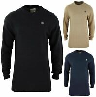 Mens Long Line Jumper Top Light Knitted Smart Casual Herringbone Baseball Style