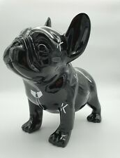 POPART KARL LAGERFELD black bulldog sculpture hand made limited 1/7