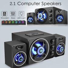 LED Light USB SADA bluetooth 2.1 Desktop Computer Speaker Fr PC Laptop    d