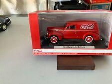 1/24 scale Red 1940 Coca Cola delivery van