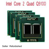 Intel Core 2 Quad Q9100 2.26GHz/12M/1066MHz Socket PGA478 CPU Laptops Processor