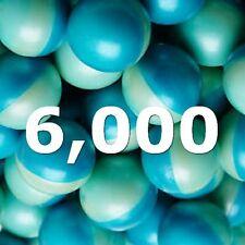 Lot of 6000 - 3 Boxes .68 Caliber Paintballs Rounds Gun Wholesale Practice Grade