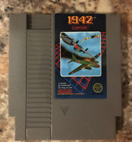 1942 Nes Nintendo Entertainment System Game Cart