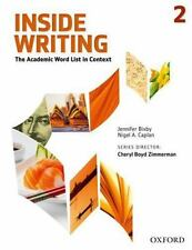 Inside Writing, Level 2 : The Academic Word List in Context by Nigel A....