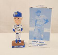 2007 Milwaukee Brewers HARVEY KUENN Pin-Stripe Mini Bobble In Box