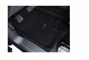 Rugged Ridge 82902.33 Black All-Terrain Front Floor Liners Kit for Ford F-150