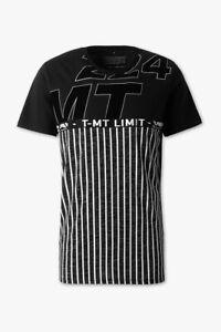 Herren T-Shirt Kurzarm Shirts Kurzarm Kurzarmig Polo Herrenmode Schwarz Weiß