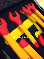 NEW! IEC60900 INSULATED VDE SPANNER WRENCH SET 1000V HYBRID VEHICLES 8mm > 19mm