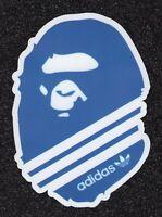 2 Large Bathing Ape and Adidas Vinyl Sticker