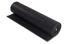 """BLACK 36"""" wide - Upholstery Base Cloth / Corovin / Dipryl / Lining Fabric 70gms"""