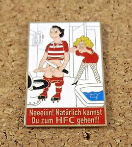 Pin Hallescher FC: Neeeiiin! Natürlich kannst Du zum HFC gehen!!!