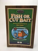 Fish Or Cut Bait Dice Game complete Fishing camping hunting game Complete EUC