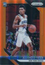 2018-19 Prizms Orange/49 RC allonzo Trier New York Knicks selten Prizm parallele...