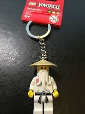 LEGO Ninjago- Sensei Wu Key Ring/ Key Chain - NEW