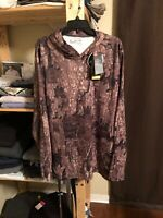 NWT Under Armour Realtree Men's Camouflage Loose Fit Long Sleeve Hoodie XXL