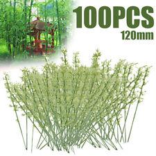 100Pcs Bamboo Plastic Models DIY Craft  Artificial Miniature Decorations Scenery