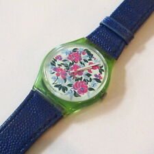 "Vintage SWATCH Watch ""Mazzolino"" GG115 1992 Original Strap READ"