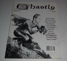GHASTLY Magazine No.6  1995 Goth Gothic fanzine skie cries mary faith & the muse