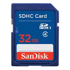 4GB 8G 16G 32GB SanDisk C4 SDHC Secure Digital Memory Card Standard Blue Genuine