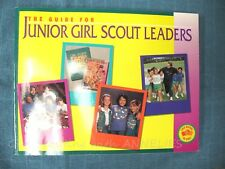 GUIDE for Junior Girl Scout LEADERS, 1994 2-Books in One, NEW Combine Ship