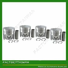 Piston Set for SHIBAURA N844 +0.50mm Oversize (100% Taiwan Made) x 4 PCS