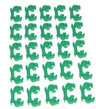 LEGO LOT OF 25 NEW GREEN MINIFIGURE HELMET NINJA HORN ELABORATE PIECES