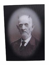 Haunted Memories GRANDPA ESBAT 5X7 Changing Portrait Halloween Trick Ghost Treat