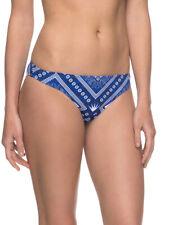 Roxy Surfer Bikini Bottoms Sport Bandana Tie Side Blue S, M, L, XL BNIB Beach