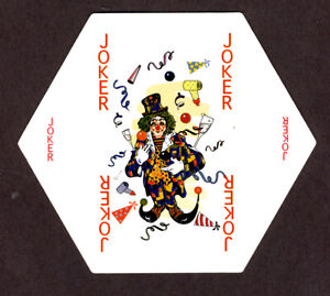Hexangular playing cards, (beer coasters) Hoegaarden, Netherlands, before 2000