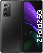 NEW Samsung Z Fold 2 256GB 5G Mobile Phone - Mystic Black - Unlocked