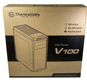 Thermaltake V100 ATX Mid-Tower PC Case NIB