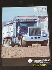 2 x International 5000i 5500i 5600i 5900i Series Truck Brochure AD-43924D
