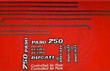DUCATI 750 PASO FULL PAINTWORK DECAL KIT