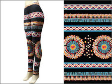 Feather Head Dress Indian Chief Legging