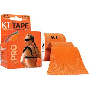 "KT Tape Pro 10"" Precut Kinesiology Elastic Sports Roll - 20 Strips - Orange"