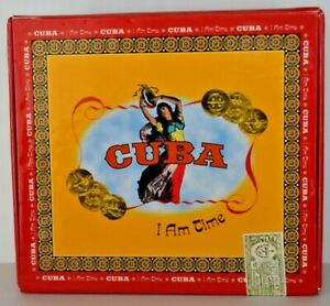 Cuba I Am Time 2000 Blue Jackel 4 CD Box Mint CD's